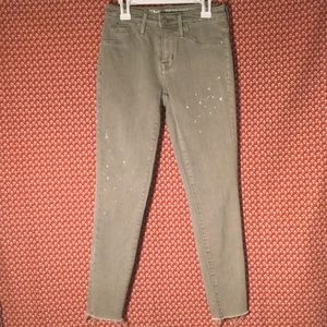 Mossimo High Rise Cropped Jegging - Like NEW